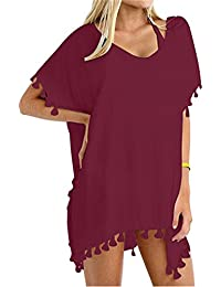 amazon com reds cover ups swimsuits cover ups clothing