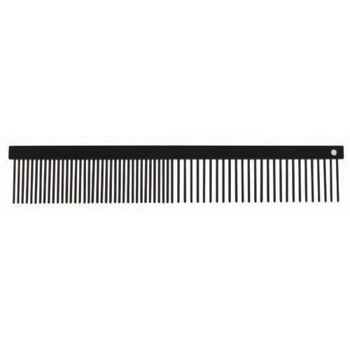 Paw Brothers Greyhound Style True Teflon Steel Comb, Medium/Fine