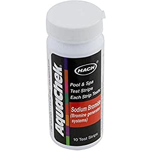 AquaChek 562053 Kit Pro Piscina Spa de sodio prueba Bromuro de Gaza valorador