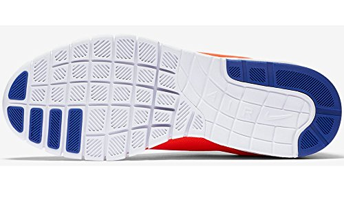 Nike Stefan Janoski Max, Zapatillas de Skateboarding para Hombre Naranja (Naranja (Total Crimson/Racer Blue-White))