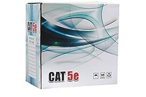 Premium Cat5e Ethernet Network LAN Cable 1000ft UTP Bulk Pull Box ( GREY ) - WireShopper