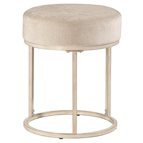 Hillsdale Furniture Vanity Stool in White Finish