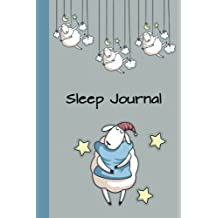 Sleep Journal: Hugging the Pillow 6x9 - Eight Weeks of Tracking Your Sleep Patterns - Sleep Journal Log - Monitor Sleeping Habits and Insomnia (Guided Journals & Trackers)