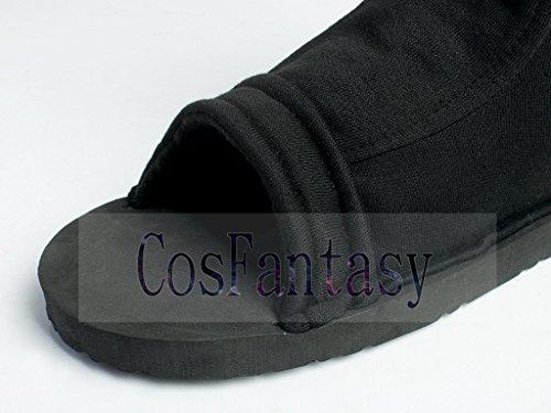 CosFantasy Japan Classic Anime Black Shippuden Ninja Shoes Cosplay Unisex mp000563 (EUR 36) by CosFantasy (Image #5)