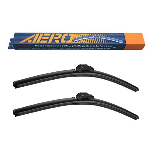 "AERO Premium All-Season Beam Windshield Wiper Blades Replacement for Mercedes-Benz GLK350 2015-2010 22""+19"" (Set of 2) for sale"