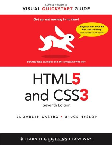 HTML5 & CSS3 Visual QuickStart Guide, 7th Edition Front Cover