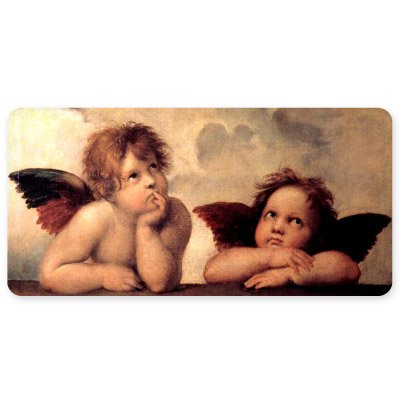 Cherubs Angels Sistine Chapel Raphael Vinyl Sticker - Car Window Bumper Laptop - SELECT SIZE ()