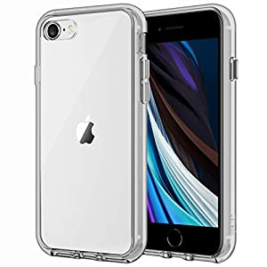 JETech Case for Apple iPhone SE 2nd Generation, iPhone 8 and iPhone 7, 4.7-Inch, Shockproof Bumper Cover, Anti-Scratch…