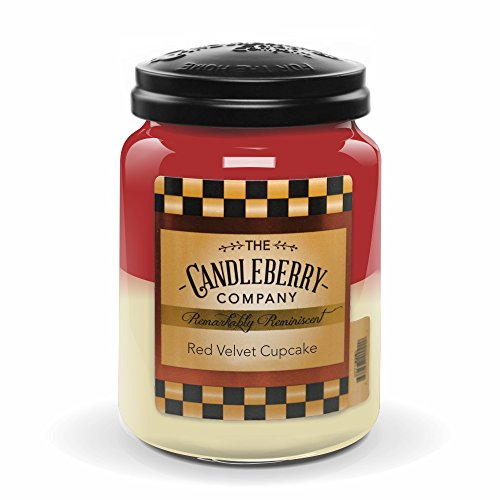 Red Velvet Cupcake 26oz. Jar - Velvet Candle