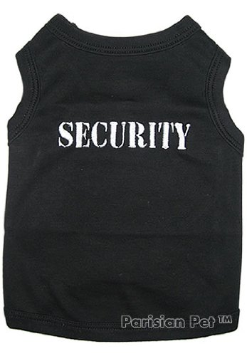 Pet Clothes SECURITY Dog T-Shirt – Small, My Pet Supplies