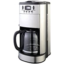 Frigidaire FD7188 12-Cup Stainless Steel Programmable Coffee Maker with Coffee Grinder, 220V (Not for USA)
