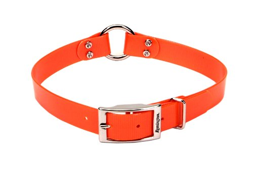 Remington Orange 1-Inch by 20-Inch Waterproof Dog Collar [Large] (1-Pack) (Style Your Remington)