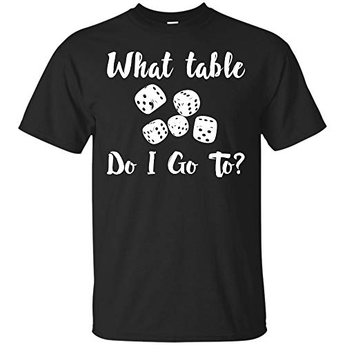 (Funny Bunco Dice T- Shirt What Table Do I Go to Gifts Hoodie (Unisex)