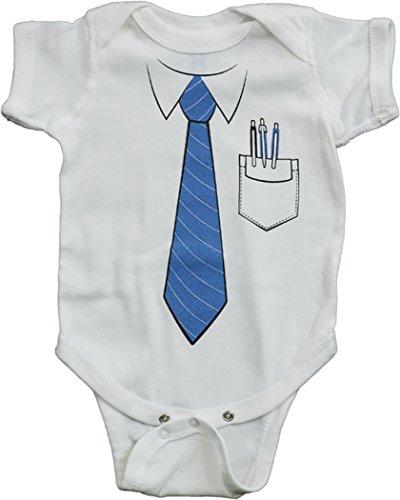 Nerd Baby Clothes Onesie - Funny IT Geek Office Computer Tech Or Halloween Infant Costumer (6 Month)]()