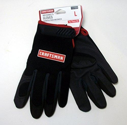 Craftsman Mechanics Black Gloves - Large ()