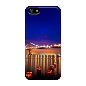 Quality Jeffrehing Case Cover With San Francisco Nights Nice Appearance Compatible With Iphone 5/5s