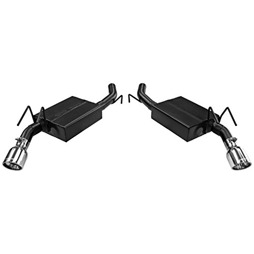 Flowmaster 817483 Axle-back System 409S – Dual Rear Exit – American Thunder – Aggressive Sound
