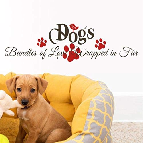 Room Wall Stickers Quotes Pet Dog Bundles of