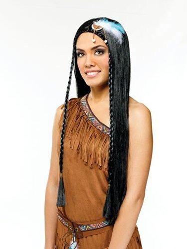 Indian Maiden Wig Costume (Maiden Wig)
