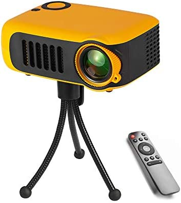 Fousamax Mini Projector, Portable LED Projector with Tripod Full ...