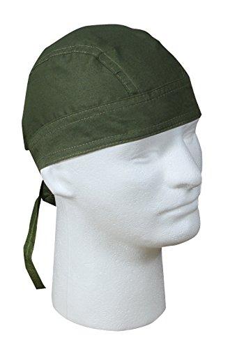 Olive Drab Headwrap - 3