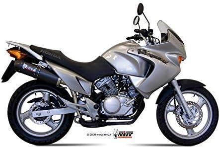 TUBO ESCAPE MIVV HONDA XL 125 VARADERO OVAL CARBONO CC 2007 2008 2009 2010 2011 2012 2013 2014