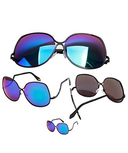 LYM reflectantes X9 de de marco objetivo sol gafas sol sol Gafas gafas de personalidad gafas gafas 1 protección de gran polarizadas gran 5 rrAHw