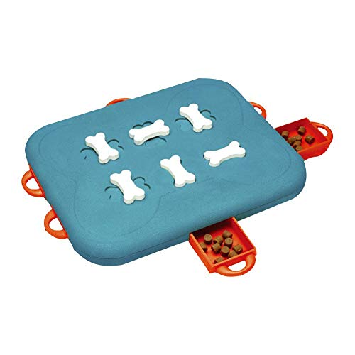 dissylove Dog Casino Treat Dispensing Dog Toy Brain and Exercise Game for ()