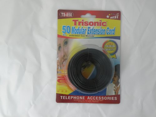 Trisonic Telephone Phone Extension Cable