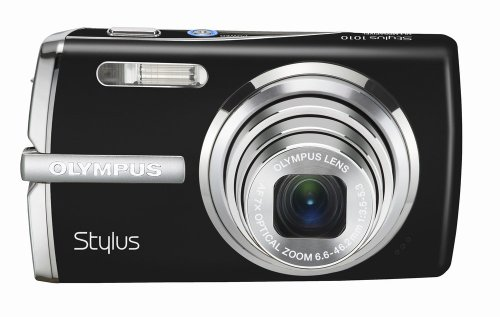 Olympus Stylus 1010 10MP Digital Camera with 7x Optical Dual Image Stabilized Zoom (Black)