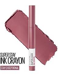Maybelline New York SuperStay Ink Crayon Lipstick, Matte Longwear Lipstick Makeup, 0.04 Ounce