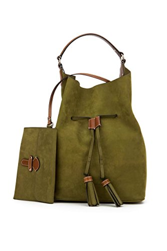 Burberry Women's Large Ashby in Green