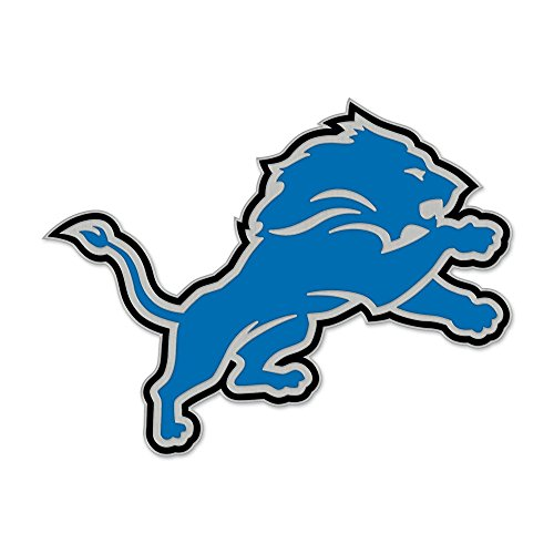 NFL Detroit Lions 47551091 Collector Pin Jewelry Card Detroit Lions Football Pin