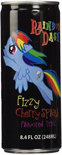 My Little Pony Non Caffeinated Flavored Drink, Rainbow Dash Fizzy Cherry Splash, 8.4 Ounce - Fizzy Cherry
