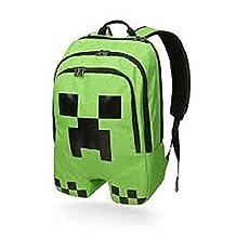 Minecraft Backpack Book Bag Creeper
