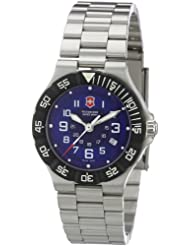 Victorinox Swiss Army Womens SWISSA-241415 Summit Blue Stainless Steel Watch