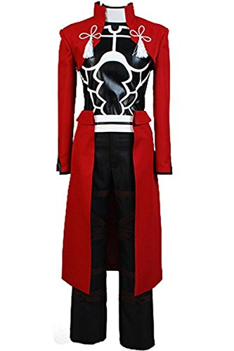 (Ya-cos Halloween Masquerade Archer Battle Suit Outfit Cosplay Costume)