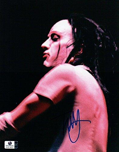 Twiggy Ramirez Signed Autographed 8X10 Photo Marilyn Manson Bassist GV814637