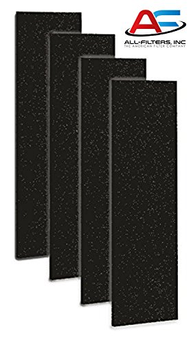 Carbon Activated Pre-Filter 4-pack for use with the GermGuardian FLT4825 HEPA Filter, AC4800 Series, Filter B, CP-6056 (Industrial Hepa Filter compare prices)
