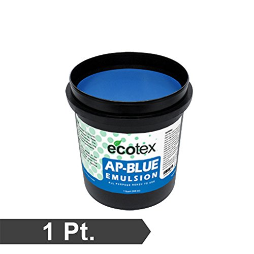 Ecotex AP-Blue - All Purpose Ready to Use Screen Printing Emulsion (1 Pint) by Ecotex