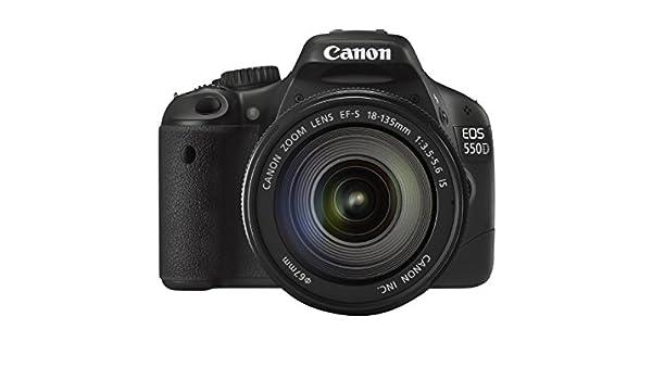 Canon EOS 550D - Cámara Réflex Digital 18.7 MP (Objetivo EF 18 ...