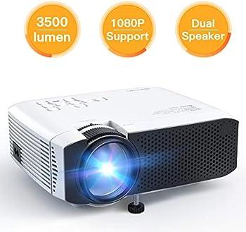 Apeman 3500 Lumen HD 1080P Mini Portable Projector