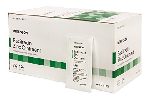 (Mckesson 1175 First Aid Antibiotic Ointment Individual Packet 0.9 Gram - Box of)