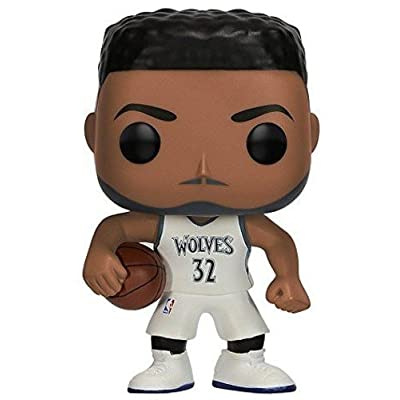 Funko POP NBA: Karl Anthony Towns Collectible Vinyl Figure: Funko Pop! Nba:: Toys & Games
