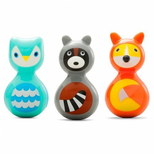Kid O Woodland Animals Wobble Toys (Set of 3) for sale  Delivered anywhere in USA