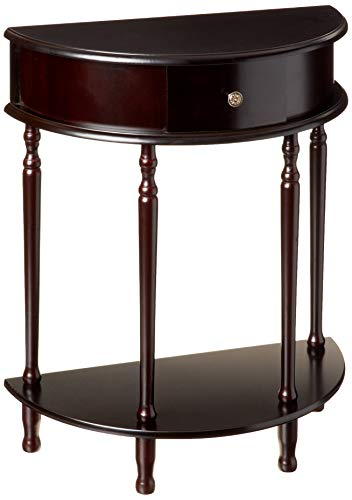 Frenchi Home Furnishing Finish End/Side Table (Table Oval Small Side)