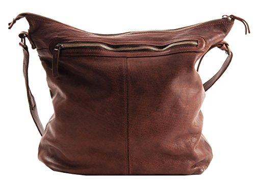 HAROLDS Shopper Tasche Leder 30 cm Cognac BXp4652