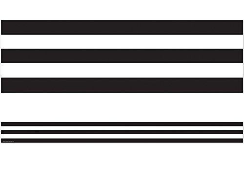 (Teacher Created Resources Black & White Stripes Straight Border Trim (5223))