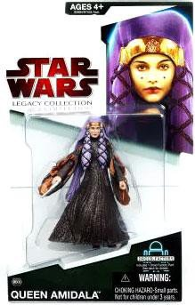 Queen Amidala BD#08 Star Wars Legacy Collection Action Figure - Queen Amidala Collection
