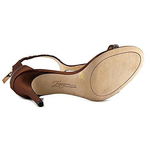 Imagine Vince Camuto Women's Im-Phoebe Dress Sandal, Bronze, 8.5 M US